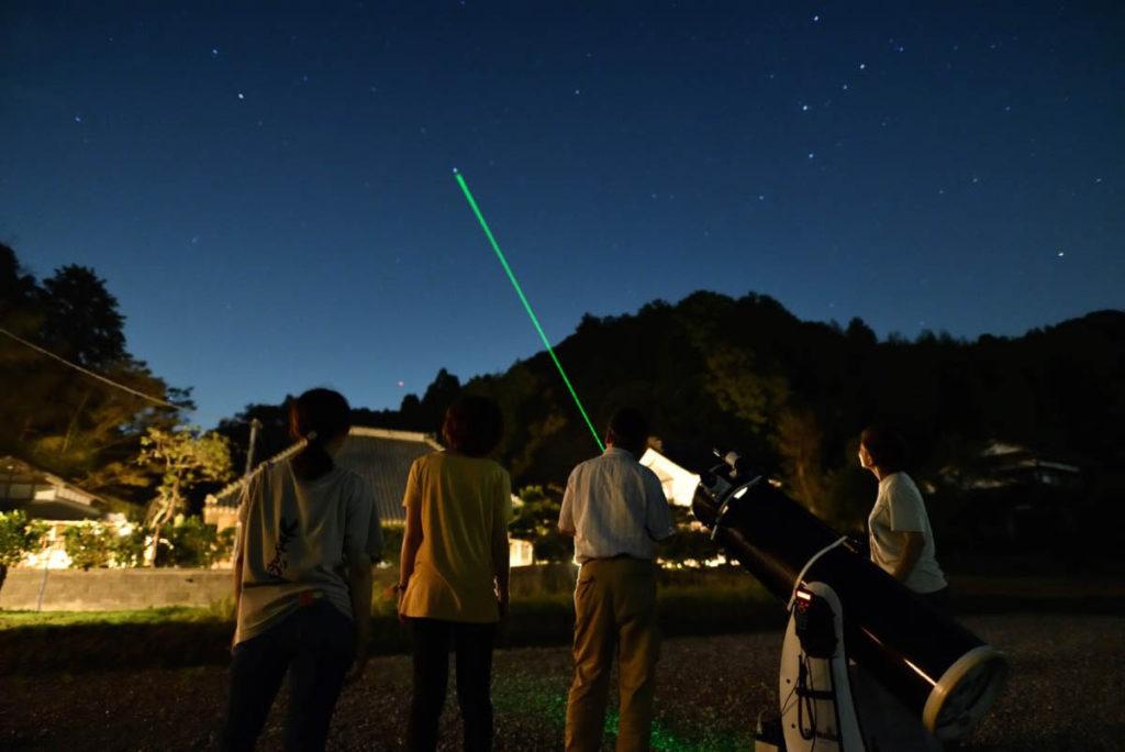 天体観測イメージ